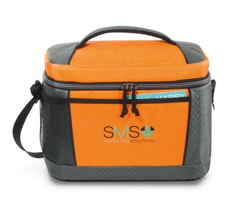 Aspen Lunch Cooler Orange - Kid-friendly
