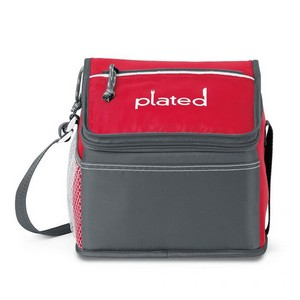 Malibu Lunch Cooler Red Lunch Bag