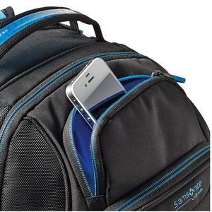 Samsonite VizAir2 Computer Backpack Black/Electric Blue