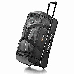 Samsonite Andante 28in. Drop Bottom Wheeled Duffel Black/Grey