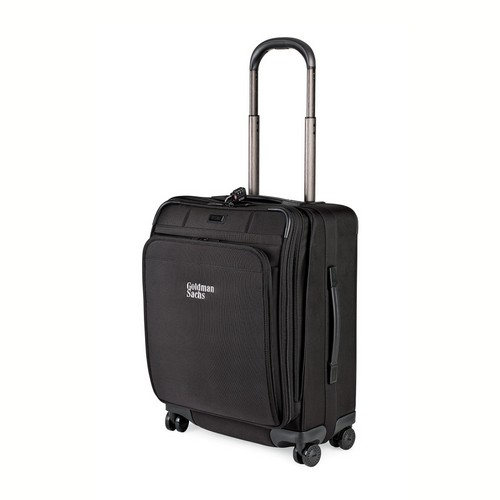 Hartmann 21in.  Ratio Domestic Carry On Glider Black Custom travel bag