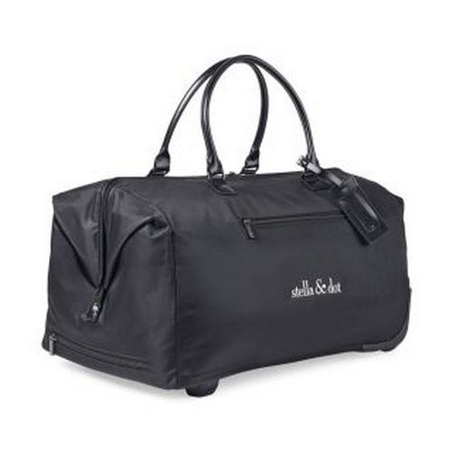 Lipault Lady Plume Wheeled Weekend Bag Black Custom bag