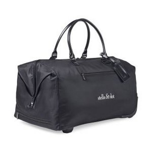 Lipault Lady Plume Wheeled Weekend Bag Black