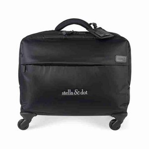 Lipault Plume Business Spinner Tote 17in. Black