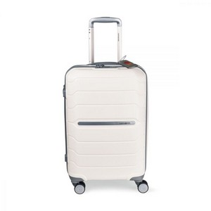 Samsonite Freeform 21in Spinner with Luggage Tag White