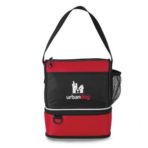 Coronado Lunch Cooler Red Lunch Bag