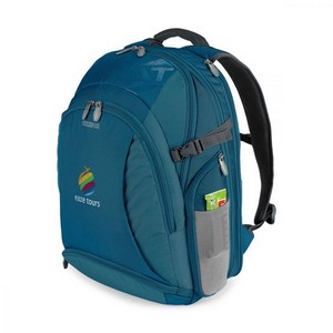 American Tourister Voyager Deluxe Computer Backpack Tidal Blue
