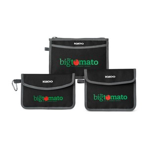 Igloo  Insulated 3 Piece Pouch Set Black