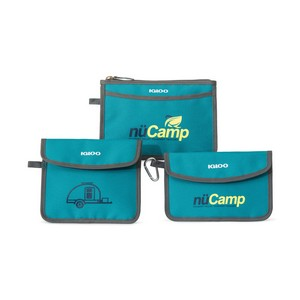 Igloo  Insulated 3 Piece Pouch Set Teal Blue