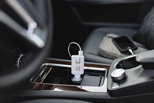 AutoPop Car Charger With Dual USB Ports