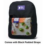 Oaklander Fully Customizable Backpack Black Straps