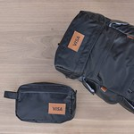 Presidio Backpack and Fort Point Dopp Bundle - Black