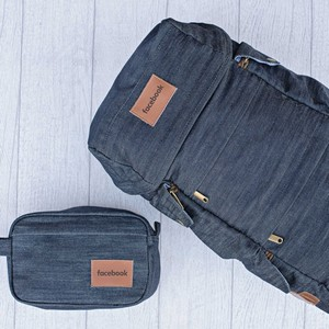 Presidio Backpack and Fort Point Dopp Bundle - Denim