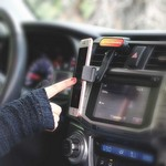Mount-A-Bout Cell Phone Holder for Car Air vent