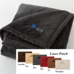 Urban Alpaca Home Throw (Laser Patch)