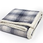 Cottage Plaid Throw (Embroidery)