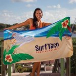 Fiber Reactive Color Beach Towel - Beach Chair Towel