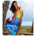 Fiber Reactive Color Beach Towel - Surf Board Towel
