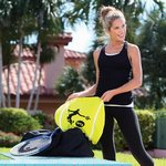 Tennis Ball Shaped Color Fitness Towel - Stock Design