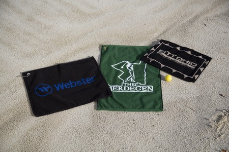 Custom Jacquard Quick Ship Golf Towel