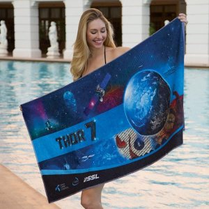 FOTO Vision Full Color Custom Beach Towel