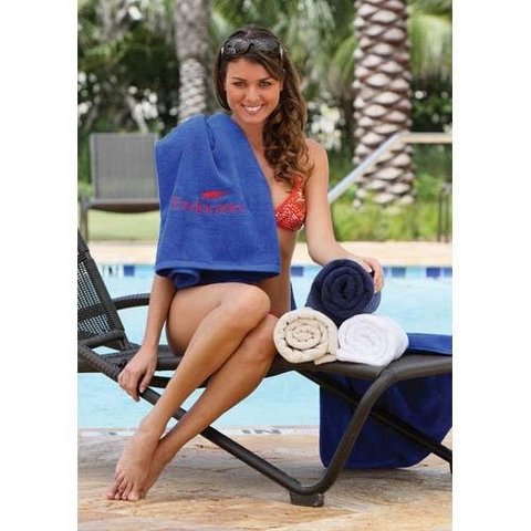 Classic Collection Single Loop Beach Towel Custom Towel