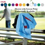 Jewel Collection Soft Touch Sport Towel (Embroidery)