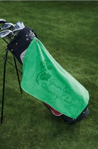 Diamond Collection Golf Towel w/ Corner Grommet (Embroidery)