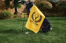 The Platinum Collection Golf Towel w/ Corner Grommet (Embroidery)
