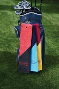 Two Tone Midweight Golf Towel
