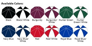 The Vented Grand Practicality Folding Umbrella