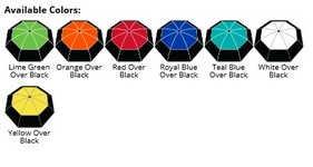 The Vented Color Crown Umbrella