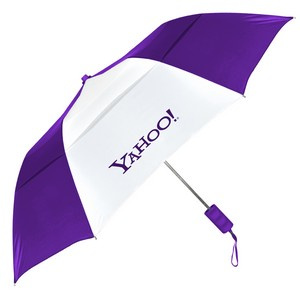 Windproof Vented Auto Opening Folding Umbrella