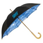 The Blue Sky & Clouds Fashion Umbrella