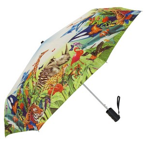 Single Canopy Std Digitally Printed Windproof Umbrella