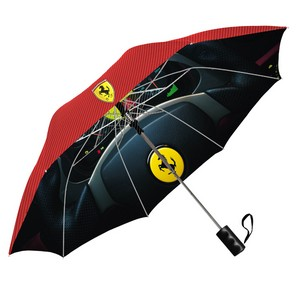 Double Canopy Deluxe Digital Printed Windproof Umbrella