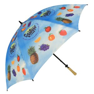 Single Canopy Std Digitally Printed Hole-in-One Golf Umbrella