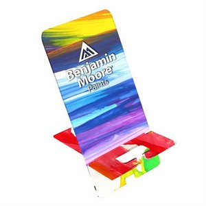 Small Upright Acrylic Phone Stand 1/4in Thick