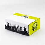 Custom E-Flute Box Tuck Box Double Side  9 X 6 X 3.5