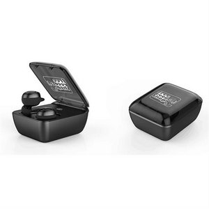 2 in 1 Flat Cover Case Bluetooth Earbuds