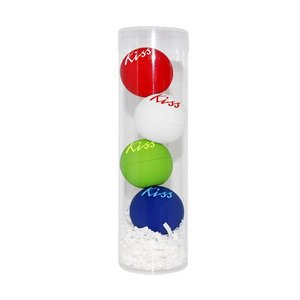 PVC Chap Balm Ornament Set 4 Pack
