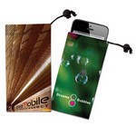 Cell Phone, Ipod Itouch, or Camera Microfiber Cloth Pouch