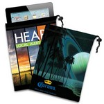 Ipad Mini / Tablet Microfiber Cloth Pouch