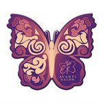 Full Color Butterfly Coaster