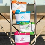 Nautical Beach Tote Bag -Screen Print