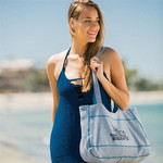 Sweatshirt Beach Tote Bag - Embroidered