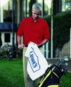 Turkish Signature Midweight Golf Towel