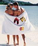 Turkish Ultraweight Custom Beach Towels