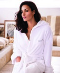 Hooded Coral Fleece Robe