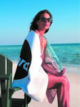 2-Side Printed Beach Towel Deluxe Size